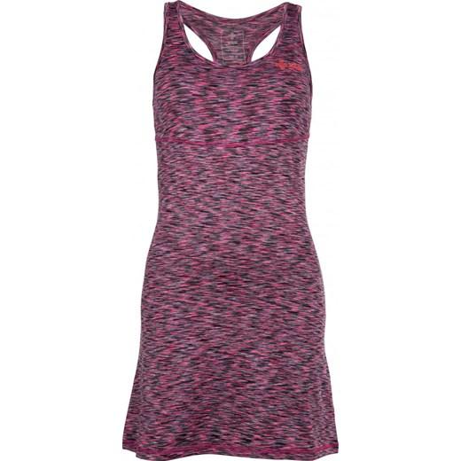 cb6e50255f Sukienka Kilpi trapezowa bez rękawów midi z okrągłym dekoltem w Domodi
