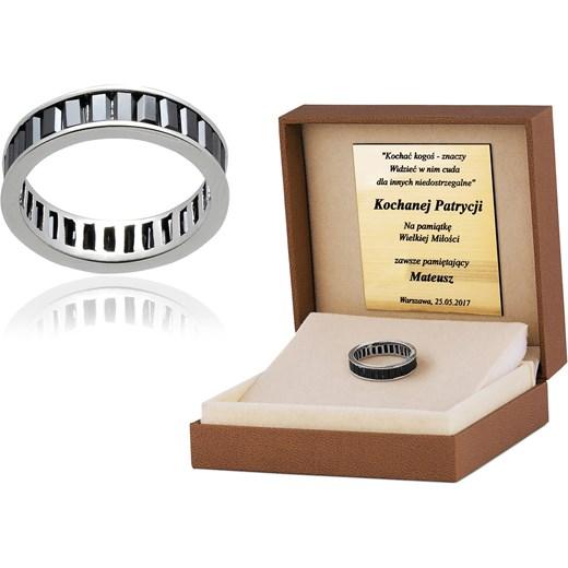 a733d38e6b0b1f Pierścionek srebrny Verona YP10 murrano-pl bialy cyrkonia w Domodi