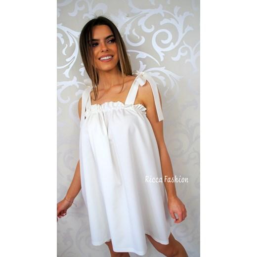 4e10a1077f ... bez wzorów mini oversize  Sukienka mini na wesele oversize ...