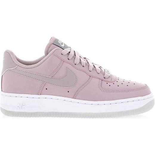 new style f8e91 58e54 Buty sportowe damskie różowe Nike do biegania air force na koturnie bez  wzorów sznurowane ...