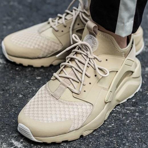 b52ef6a5 Buty sportowe męskie brązowe Nike huarache sznurowane letnie w Domodi