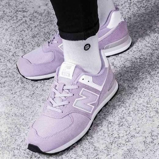 a5866f9f Buty sportowe damskie New Balance casualowe młodzieżowe new 575 różowe  sznurowane na płaskiej podeszwie ...