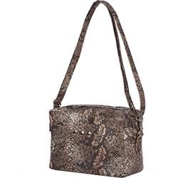 a41b85b0ae89a Listonoszka Mb Classic Bag w stylu młodzieżowym ze skóry ekologicznej z  tłoczeniem na ramię