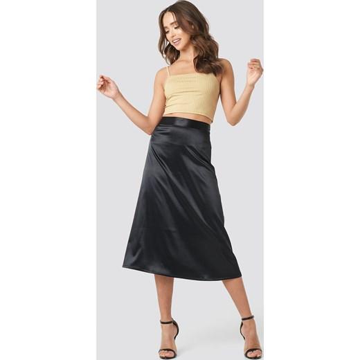 piękny Spódnica NA-KD Party midi gładka Odzież Damska MQ Spódnice XJDU
