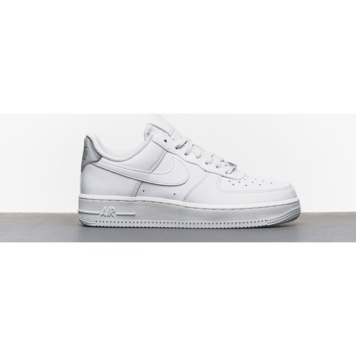 1b0a7e7c Nike buty sportowe damskie dla biegaczy air force skórzane sznurowane  gładkie