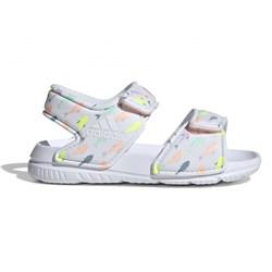 eb246f3d Sandały dziecięce Adidas na rzepy z nadrukami na lato