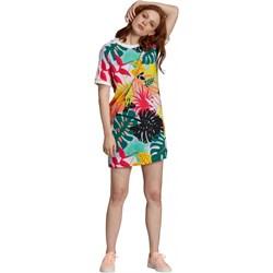 8fc9737c1 Sukienka Adidas Originals wielokolorowa dzianinowa na spacer