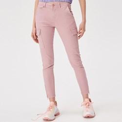 621cba44532146 Różowe spodnie damskie sinsay, lato 2019 w Domodi