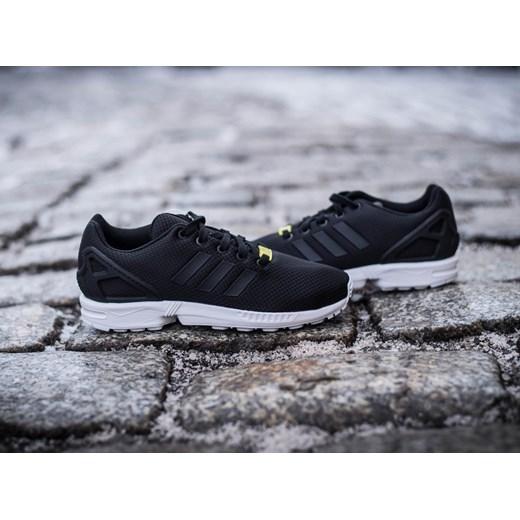 e4ff50a2 ... Buty sportowe damskie Adidas Originals zx czarne gładkie wiązane płaskie  ...