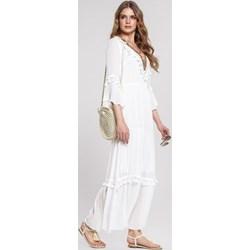d6e837ecbc Renee sukienka z długim rękawem biała