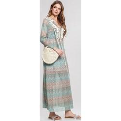 69fe9ff4c4 Sukienka Renee z długim rękawem oversize glamour