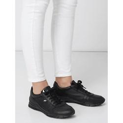 2949f38b22447 Buty sportowe damskie Geox sneakersy w stylu młodzieżowym ze skóry