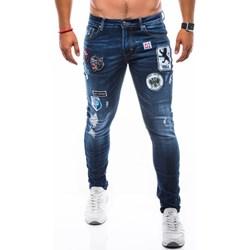 905bbc39d1 Jeansy męskie Ombre Clothing w nadruki