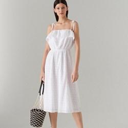 be77dcbba6 Białe sukienki na ramiączkach trapezowe