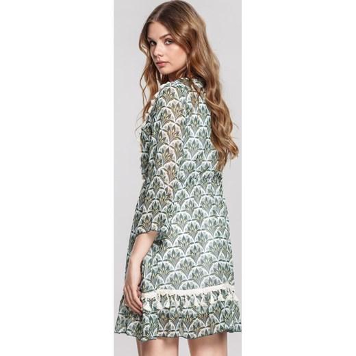 010de46fe5 Sukienka Renee mini z aplikacjami w Domodi