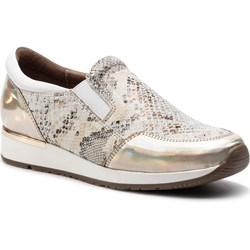 a1034caac56b Sneakersy damskie Nessi wiosenne na płaskiej podeszwie skórzane ...