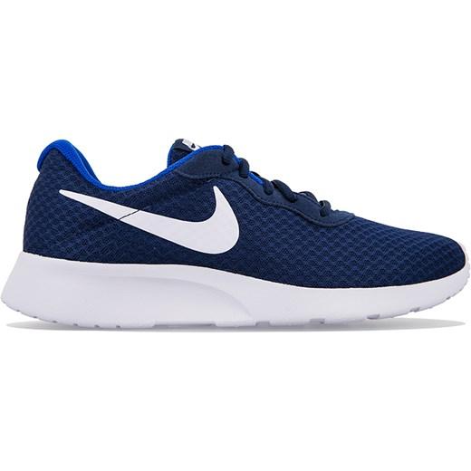 Niebieskie buty sportowe męskie Nike tanjun sznurowane