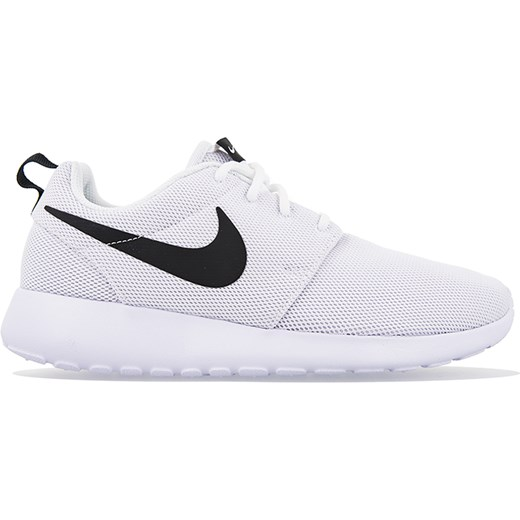 uważaj na niska cena najlepiej online Buty sportowe damskie Nike roshe bez wzorów białe sznurowane eleganckie
