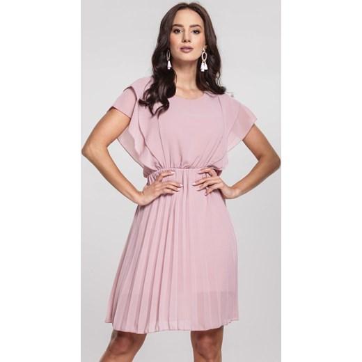 ef02bc8c40 Różowa Sukienka Canada Renee M Renee odzież ...