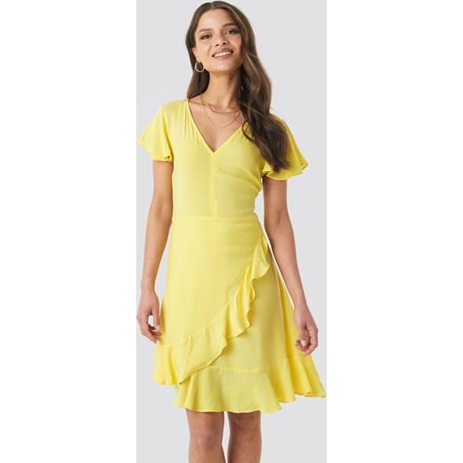 b9854bd04f Sukienka NA-KD mini casualowa w Domodi