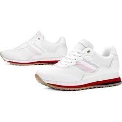 3a2de34cde097 Buty sportowe damskie Tommy Hilfiger sneakersy młodzieżowe wiązane płaskie
