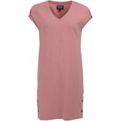 916ba4811558c9 Sukienka Barbour z krótkim rękawem z dekoltem w serek na bal prosta
