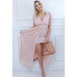 2a97687ba6 Sukienka różowa mini