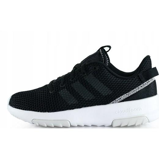 ekonomiczny Buty sportowe damskie Adidas Neo bez wzorów na