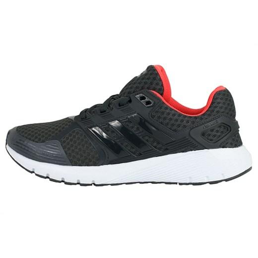 Buty sportowe damskie Adidas dla biegaczy wiosenne bez wzorów na płaskiej podeszwie sznurowane