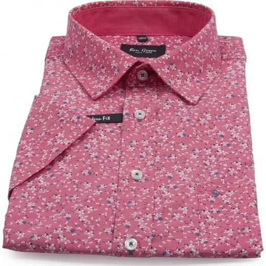 dobra jakość Koszula męska Ben Green w kwiaty młodzieżowa z