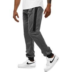 9fe87e16651520 Spodnie męskie Ozonee w sportowym stylu szare bawełniane