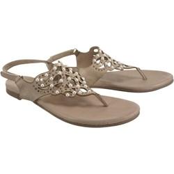 b253b69f18bd6 Brązowe sandały damskie tamaris, lato 2019 w Domodi