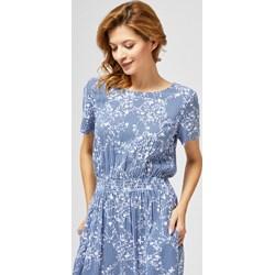 a4fe5209465be4 Sukienka z krótkim rękawem z okrągłym dekoltem mini