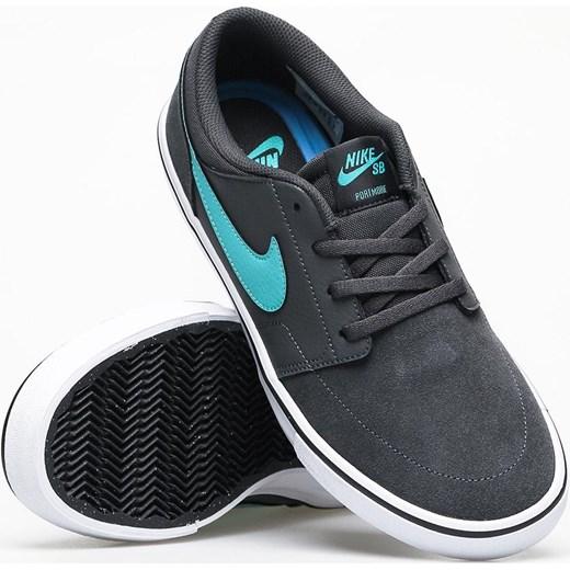 tanio na sprzedaż tanio na sprzedaż tani Trampki męskie Nike sb sportowe czarne sznurowane