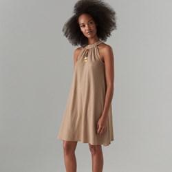6492428e70 Sukienka Mohito oversize bez rękawów mini