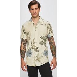 dc7ace4e765d82 Koszula męska beżowa Premium By Jack&jones