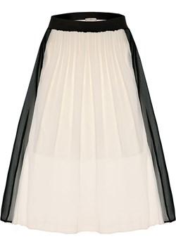 Biała spódnica z lampasami Narcyza.   SU unusual woman  - kod rabatowy