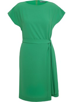 Zielona sukienka Oksana  zielony SU unusual woman  - kod rabatowy