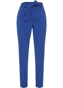 Szafirowe spodnie na wiosnę Nikola.   SU unusual woman  - kod rabatowy