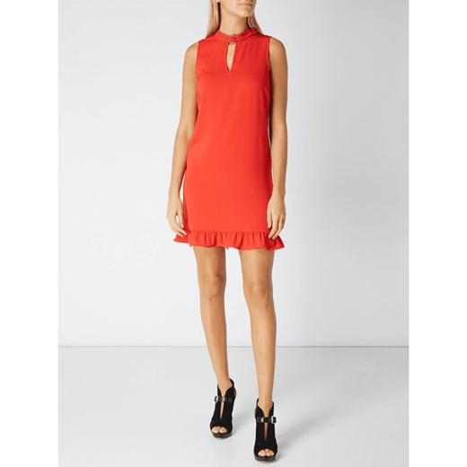 42f2714840 Sukienka czerwona Guess mini na spotkanie biznesowe trapezowa  Sukienka  Guess mini bez rękawów na spotkanie biznesowe