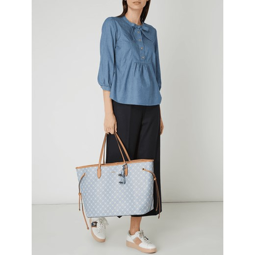 59cd72531e67d Shopper bag Joop! duża z nadrukiem bez dodatków w Domodi