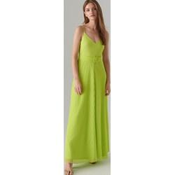 30a0e48d0b Sukienka Mohito elegancka maxi prosta na ramiączkach