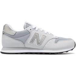 aa383c07c71a90 Buty sportowe damskie New Balance w stylu casual bez wzorów płaskie  sznurowane