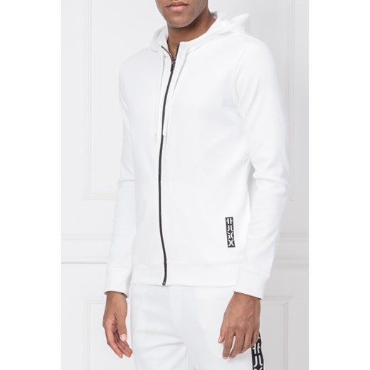 d19561e44ed8f ... Bluza męska biała Hugo Boss casual