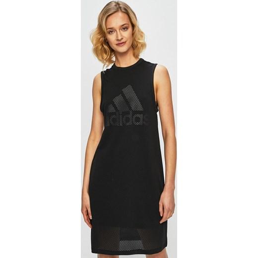 69faddbd6 Sukienka Adidas Performance bez rękawów na spacer w Domodi