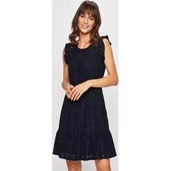 83f7fc2ef6 Sukienka Vero Moda bez rękawów gładka biznesowa elegancka