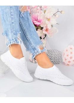Pantofelek24.pl | Sportowe buty damskie Białe Pantofelek24  okazja pantofelek24.pl  - kod rabatowy