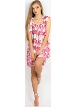 Sukienka Babydoll róże Lalu  Stardust Butik  - kod rabatowy