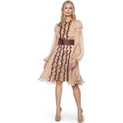 696307d70f Sukienka Aneta Kręglicka X L af jedwabna