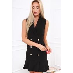 d633171cfbfc5 Sukienka Fasardi mini bez wzorów do pracy casual